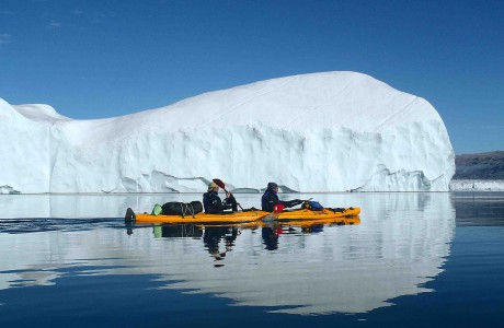 kayak in greenland. 15 days kayak trip
