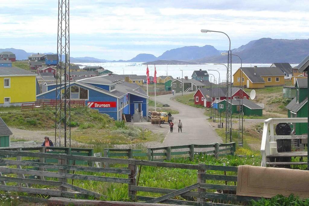 Greenland kayaking trips: Narsaq town