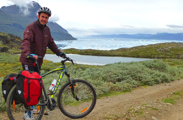 Bike tour Greenland