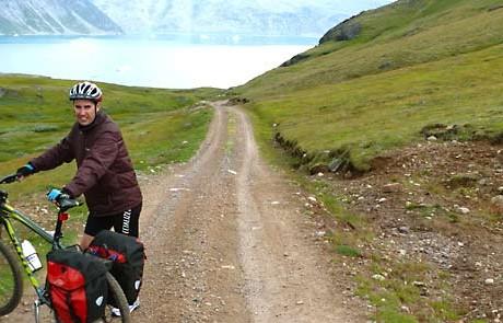 biking to qassiarsuk greenland