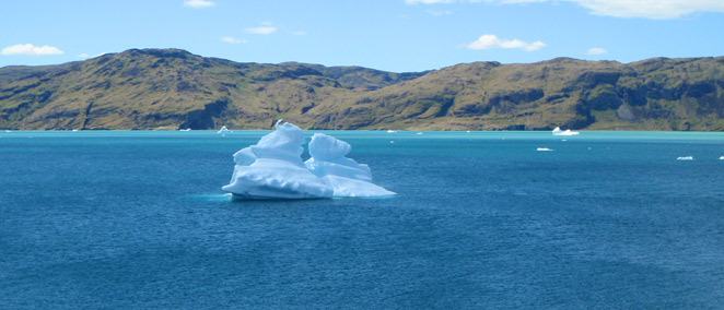Iceberg in the Eriksfjord
