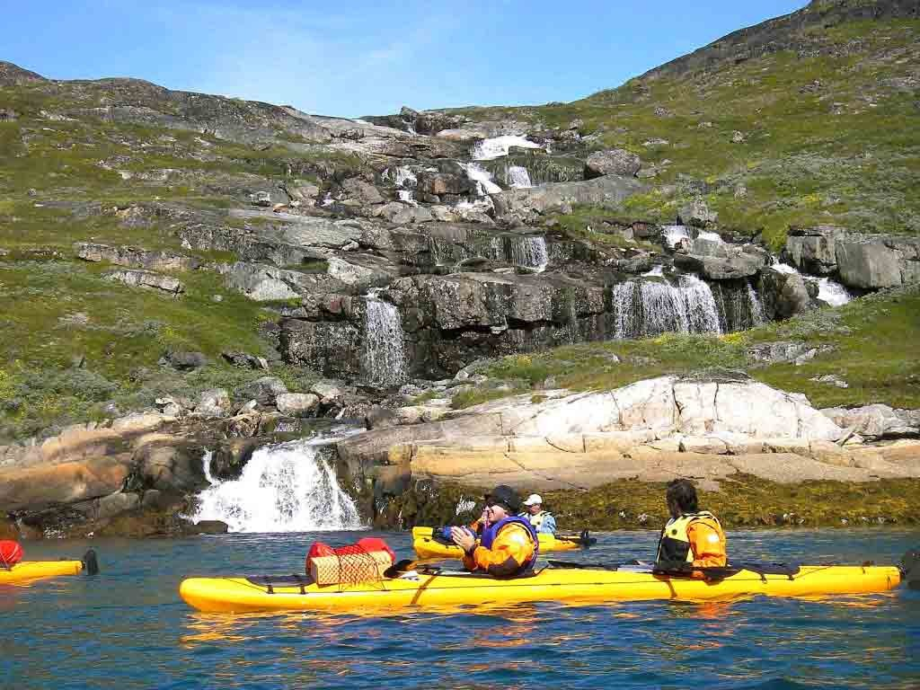 greenland kayaking trips arrival