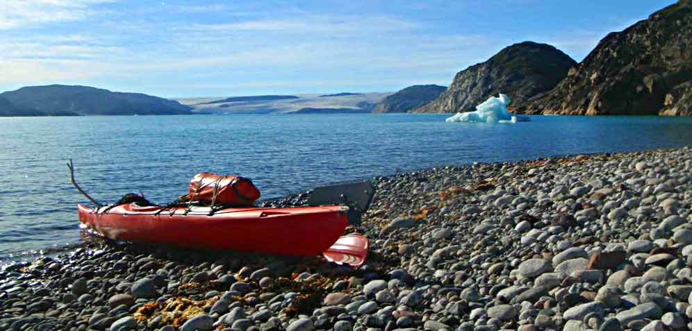 greenland kayaking tours caribou island