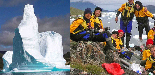 greenland kayaking tours group