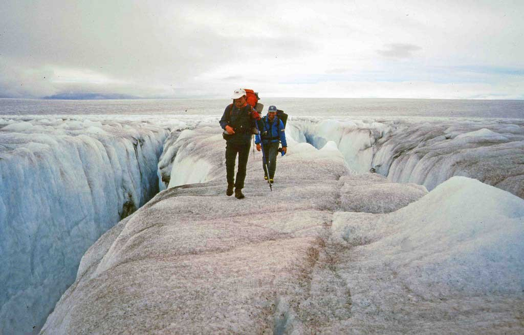 Greenland kayaking tours ice hiking
