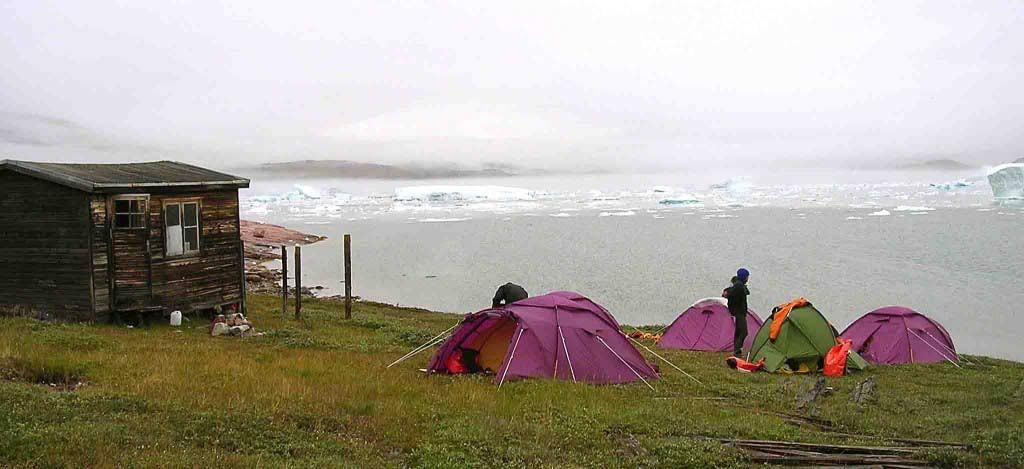 Greenland kayaking tours, Quingaarsuup