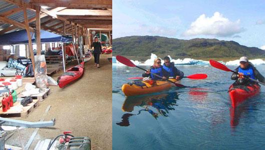 Greenland kayaking trips, Narsaq