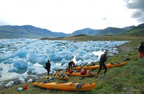 kayak y trekking
