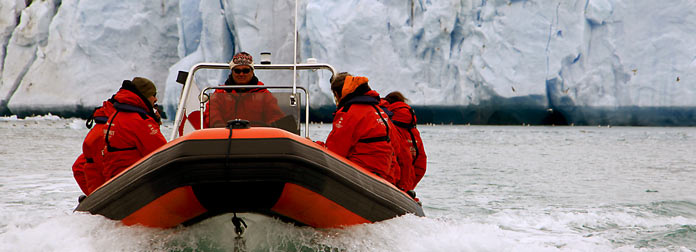greenland adventure tours Qooroq glacier navigation