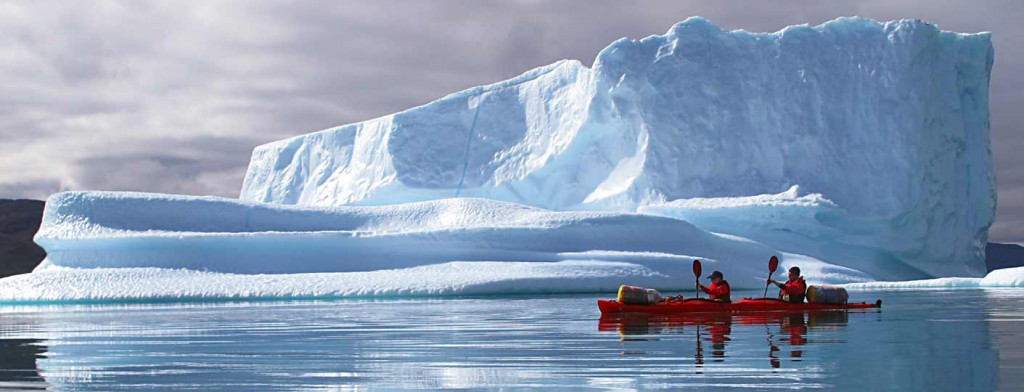 Kayaking in Greenland, work in South Greenland