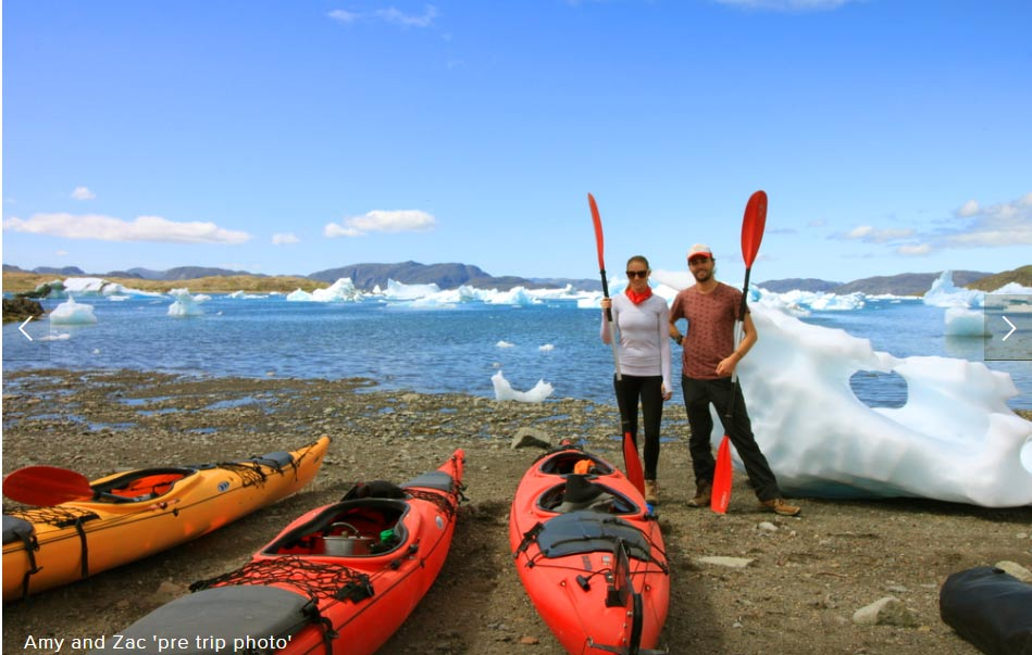South Greenland kayaking trip